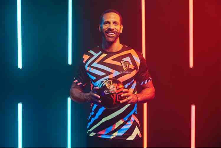 RIO FERDINAND IN LAGOS FOR THE GUINNESS NIGHT FOOTBALL PAN-AFRICAN FINALE