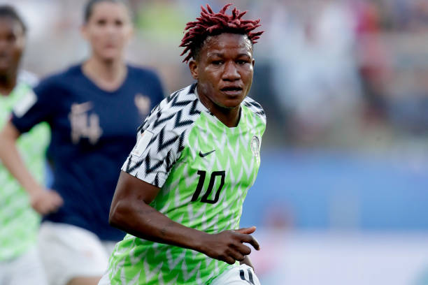 Super Falcons star Chikwelu prepares for a new challenge in Spain