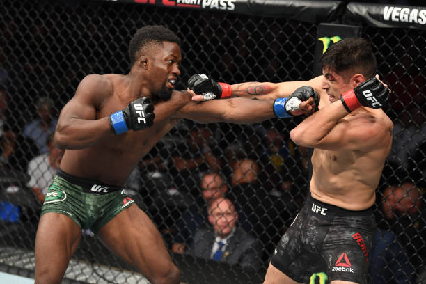 Sodiq Yusuff vows to land UFC title after fourth consecutive win