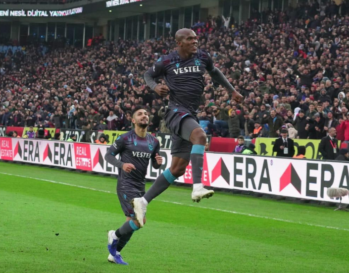 Bend it Like Anthony! Nwakaeme curls in Brace and gets Assist for Trabzonspor Win