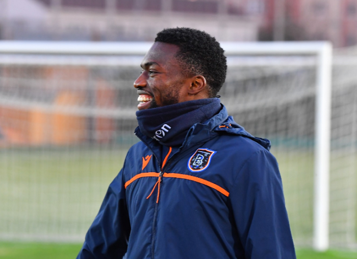 No Worries! Okechukwu benched in Basaksehir Defeat, but is All Smiles in the Morning