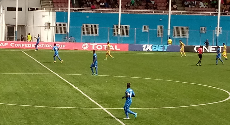 San Pedro 2-5 Enyimba: Mbaoma fires Brace as Aba Elephants March into Confederation Cup QFs