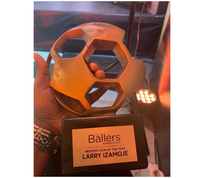 The Ballers Awards: Dr. Larry Izamoje wins Icon of the Year Award