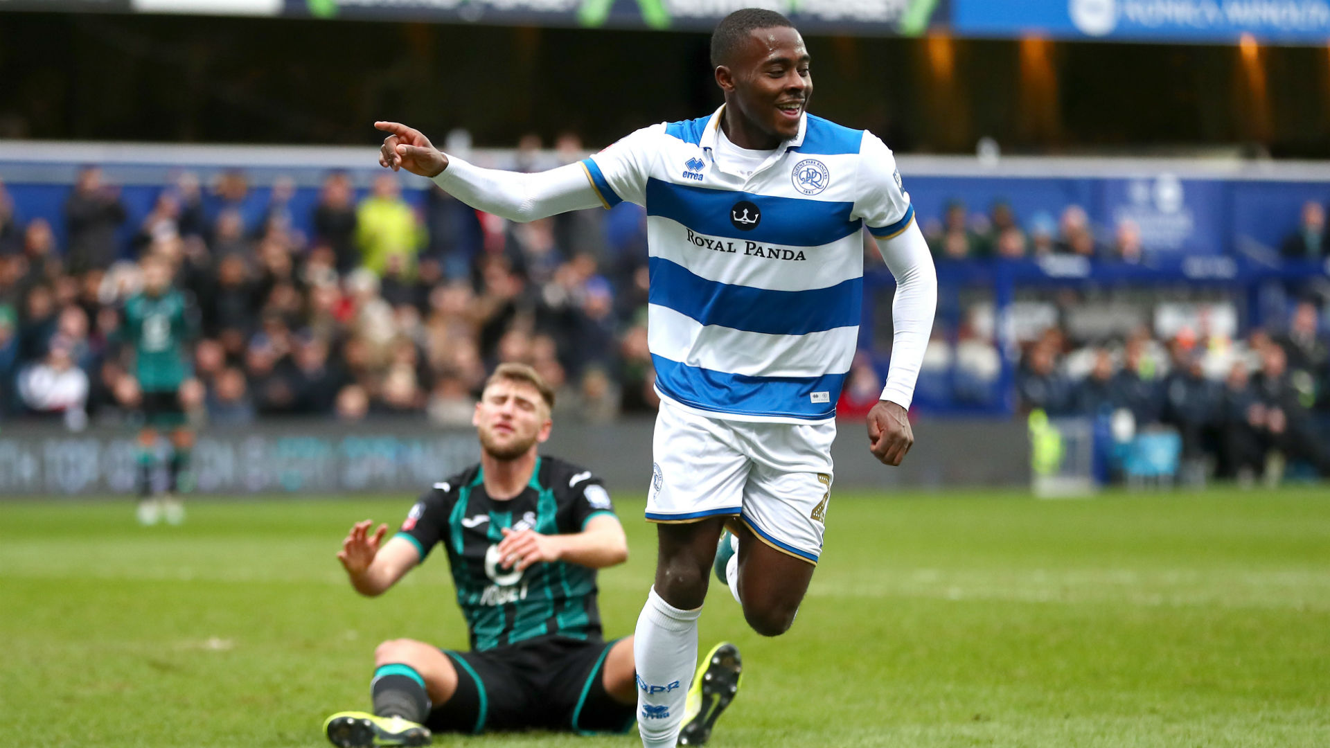 Osayi-samuel, Oladipo send QPR into English FA cup fifth round