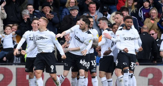 Derby County don enter one chance
