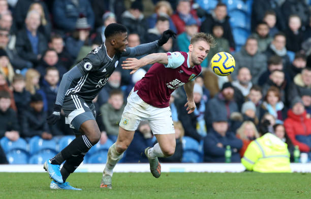 Leicester Missing Ndidi, Iheanacho's Goals as Burnley Stun Foxes