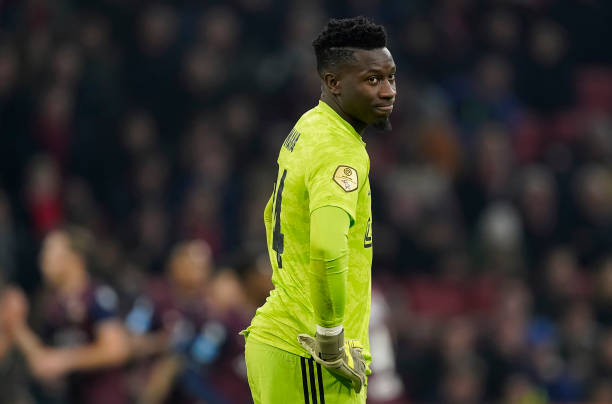 Onana says Top European Clubs won't Sign Him because He's Black