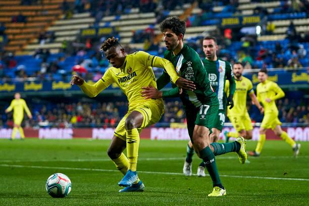 Villarreal 1-2 Espanyol: Chukwueze's Goal Drought Continues