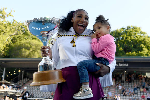 Serena Williams Celebrates first title in Three Years, Donates Prize Money to Australian Bush fires Appeal