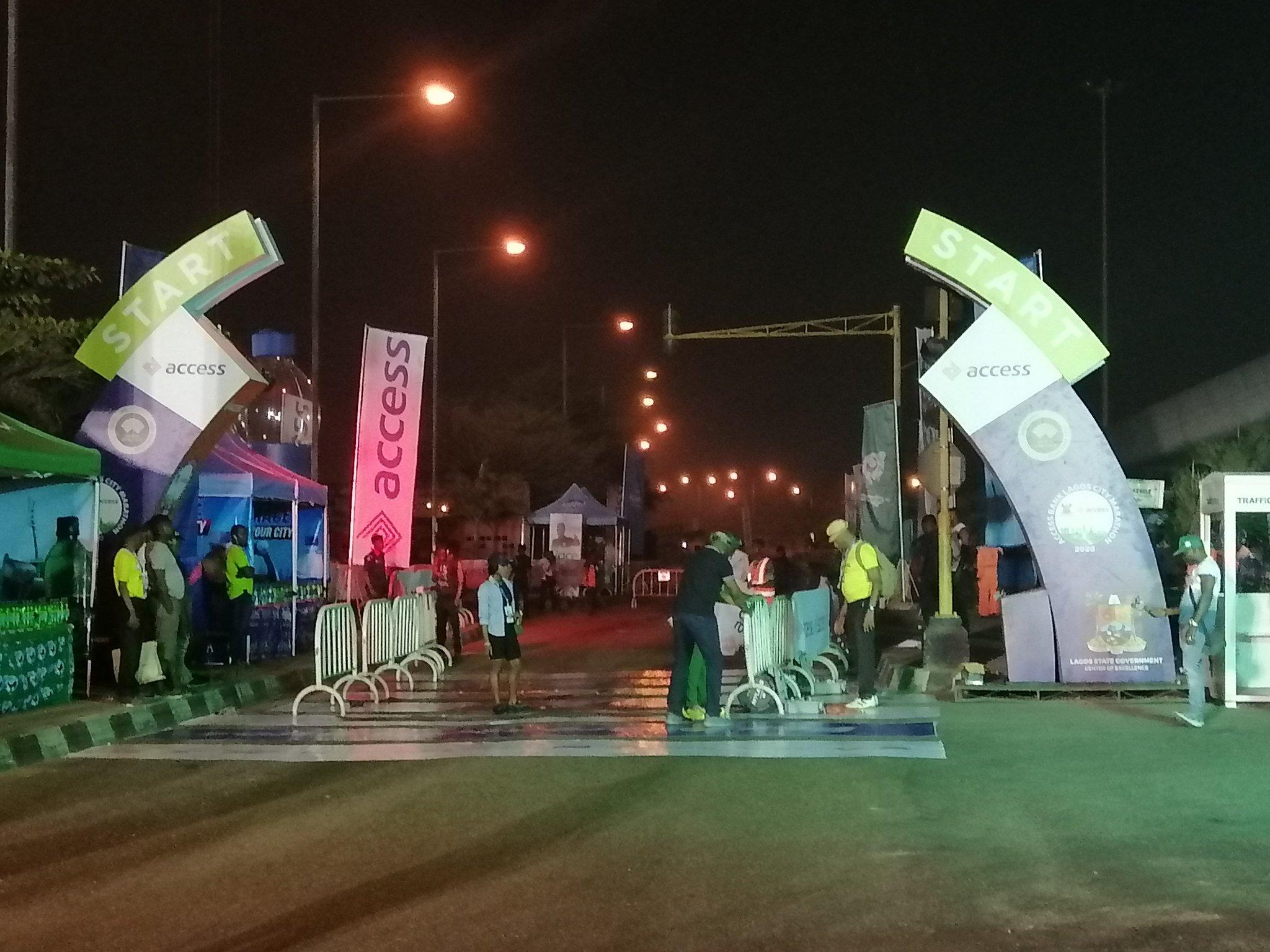 Lagos City Marathon: Athletes take off at National Stadium, Surulere
