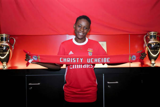 Christy Ucheibe joins SL Benfica on three-and-half-year deal