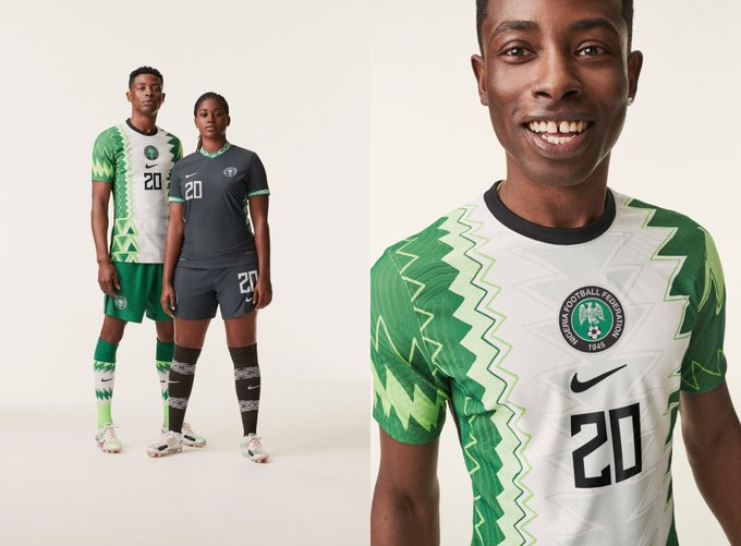 Nike, NFF Unveil New Super Eagles Jersey Ahead World Cup Qualifiers