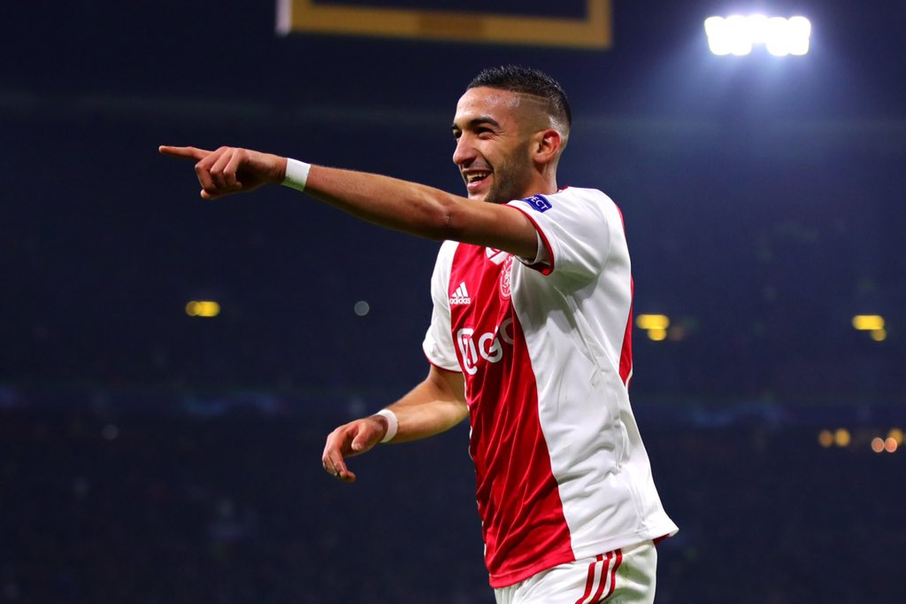 BREAKING! Chelsea agrees €45m deal with Ajax to sign Hakim Ziyech in the summer