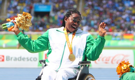 """My husband quit his job to help me train for Paralympics""- Nigerian Paralympian"
