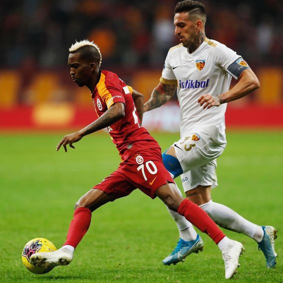Second Galatasaray debut excites Onyekuru