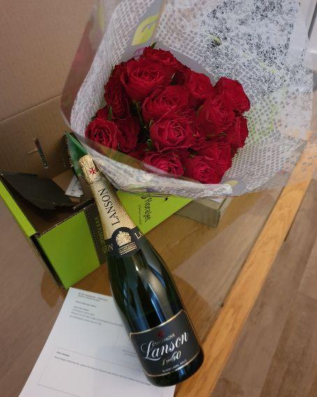 Super Falcons striker Oparanozie flaunts her Valentine gift on social media