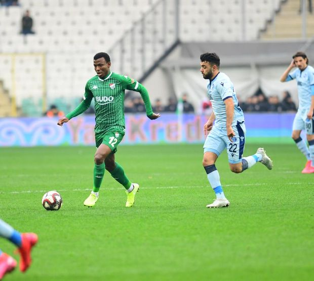 Abdullahi happy with Busarspor's league game success