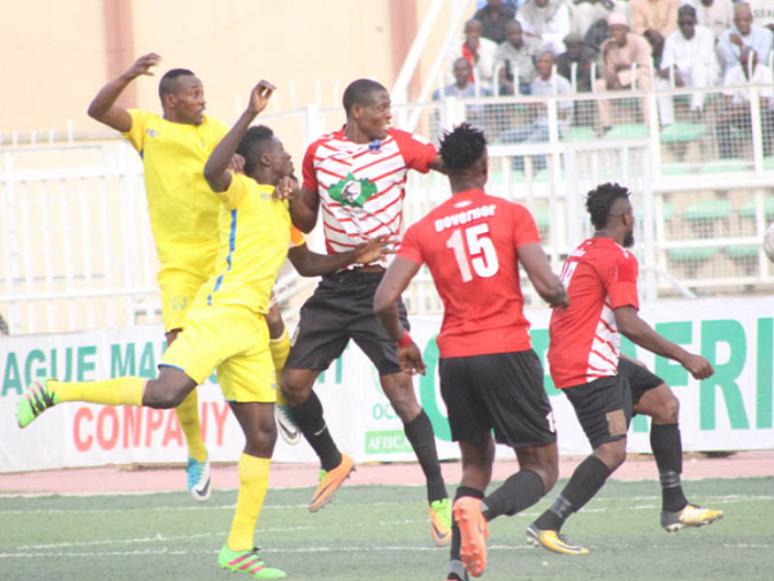 Lobi Stars title Chances dented in 4-0 bashing against Rampant Wikki Tourists