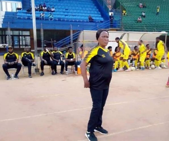 Female Coach of Men's Team Dominating in Sierra Leone Premier League