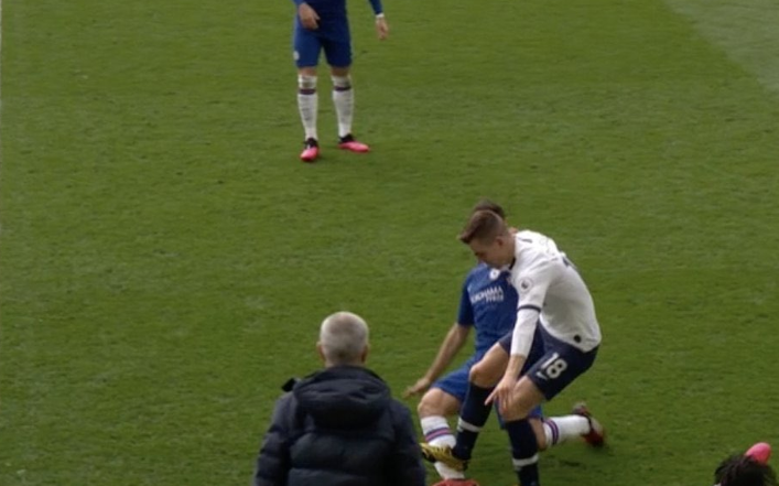Red Card or Not! Lo Celso let off the hook as VAR Controversy Rocks Chelsea 2-1 win over Tottenham