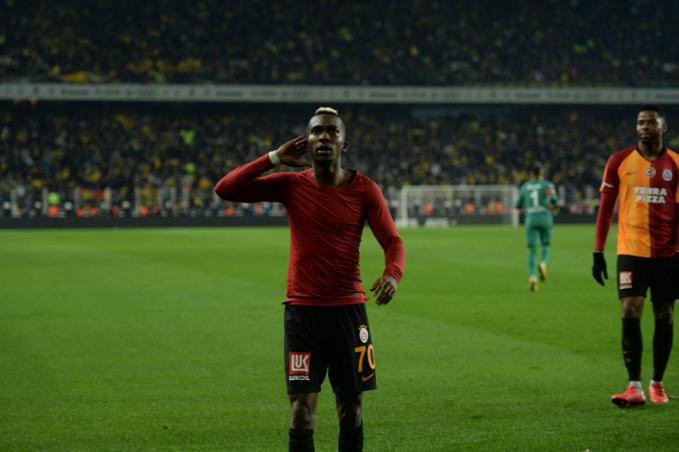 Onyekuru Inspiring Galatasaray to Victory in the Intercontinental Derby vs Fenerbahce