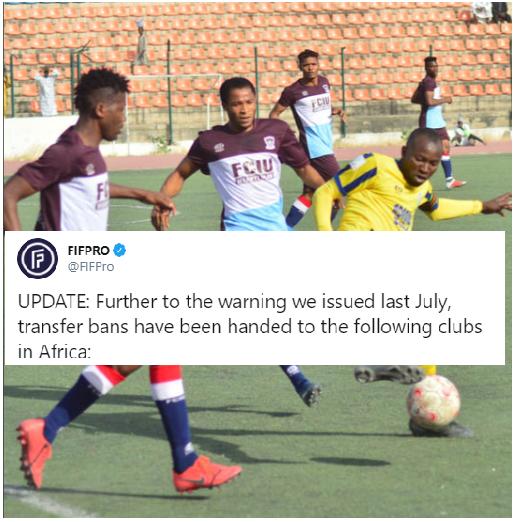 International Footballers Association blacklists NPFL Club for non-payment of Salaries