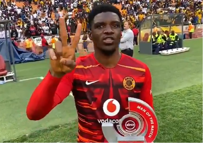 MOTM Akpeyi Helps Kaizer Chiefs in Big Soweto Derby victory over Pirates