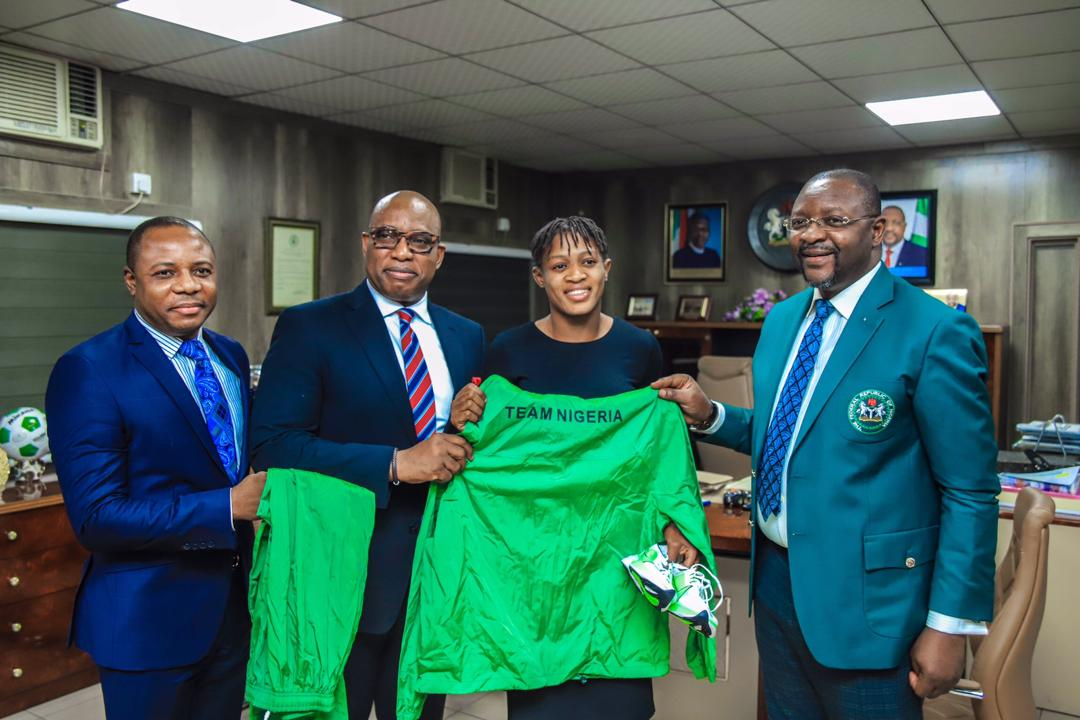 Sports Ministry Signs MoU for World No. 1 Adekuoroye