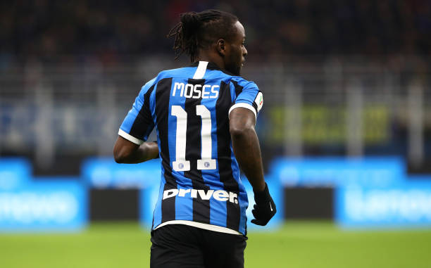 Inter confirms Moses in squad for Europa League