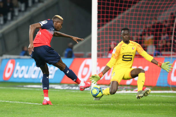 Osimhen injured again after a great performance for Lille vs Angers