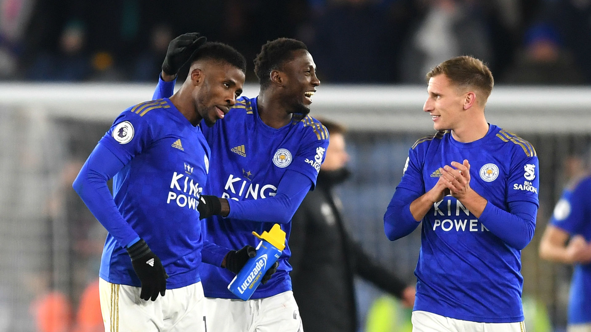 Iheanacho on target for Leicester City as Vardy scores 100th premier league goal