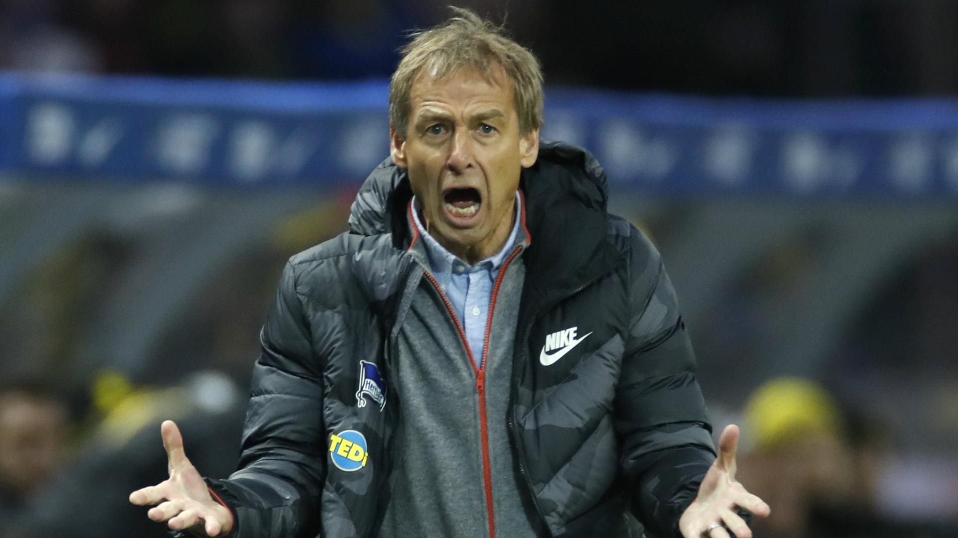 Klinsmann don comot hand as Berlin coach