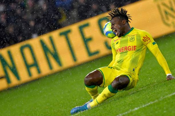 Simon Moses puts in the Shift for Nantes after initial Injury Fears