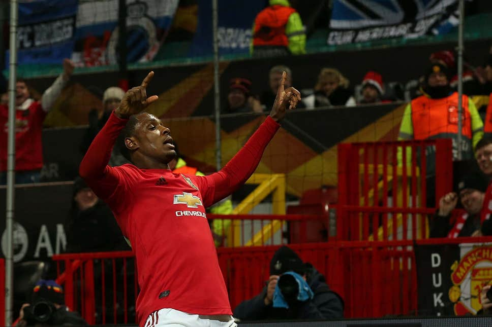 Ighalo dedicates first Man United goal to late Sister, Mary
