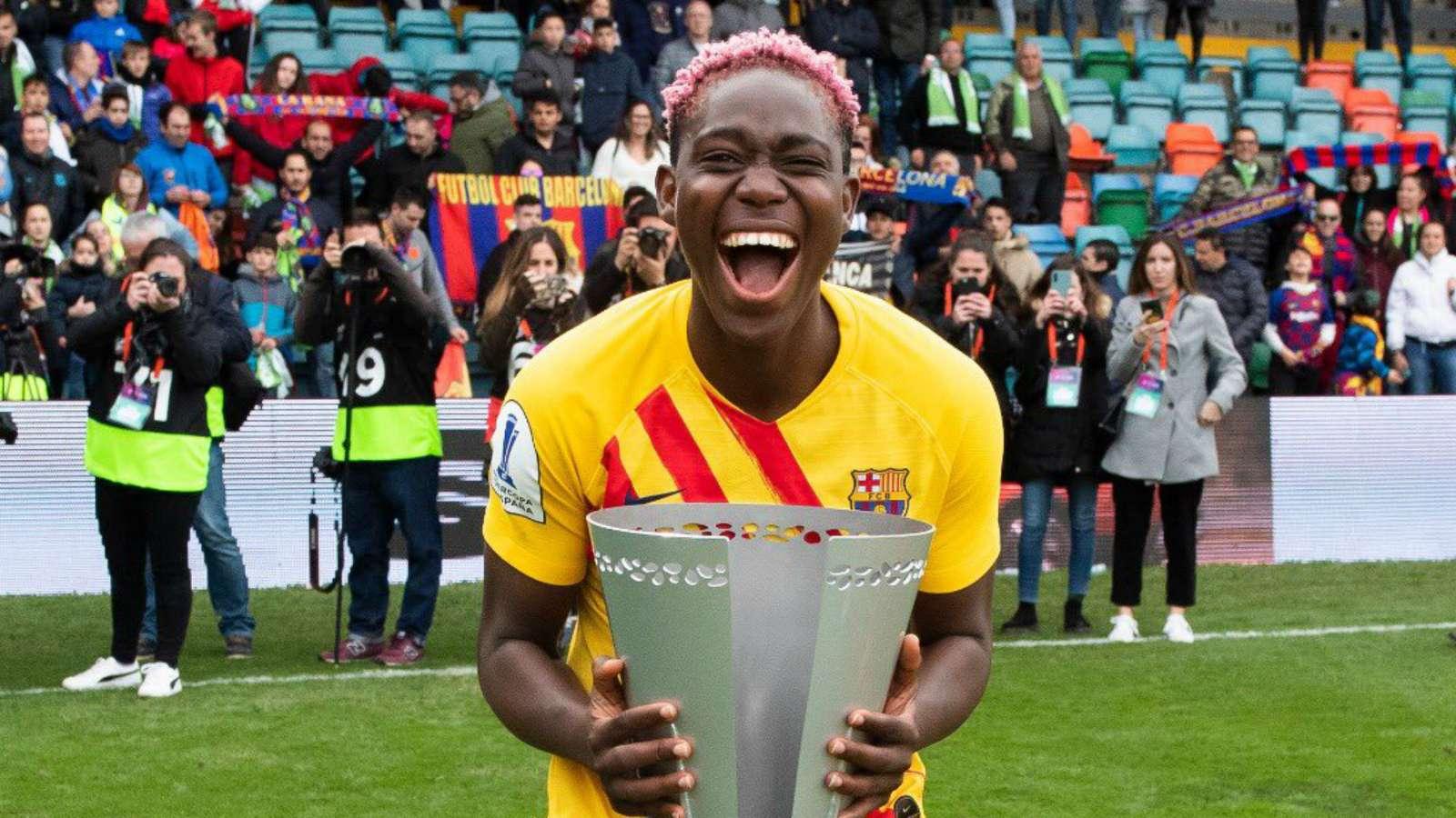 Oshoala nominated for UEFA player of the year award