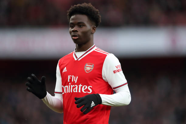 Saka Recounts Growing Pains before Hit Stardom with Arsenal