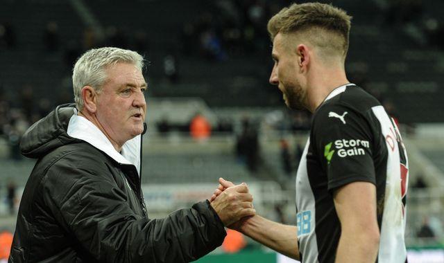 Corona Virus: Newcastle United bans handshake at training ground