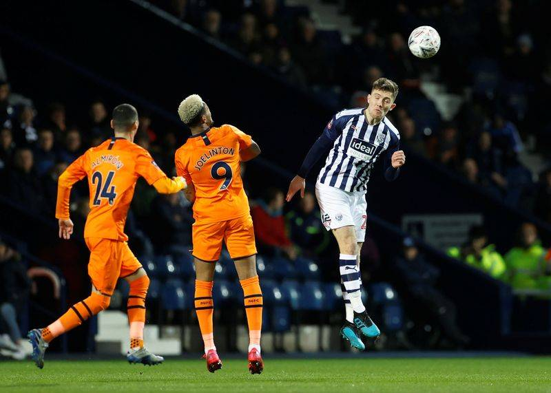 Newcastle send Semi Ajayi 's West Bromwich Albion out of English FA Cup