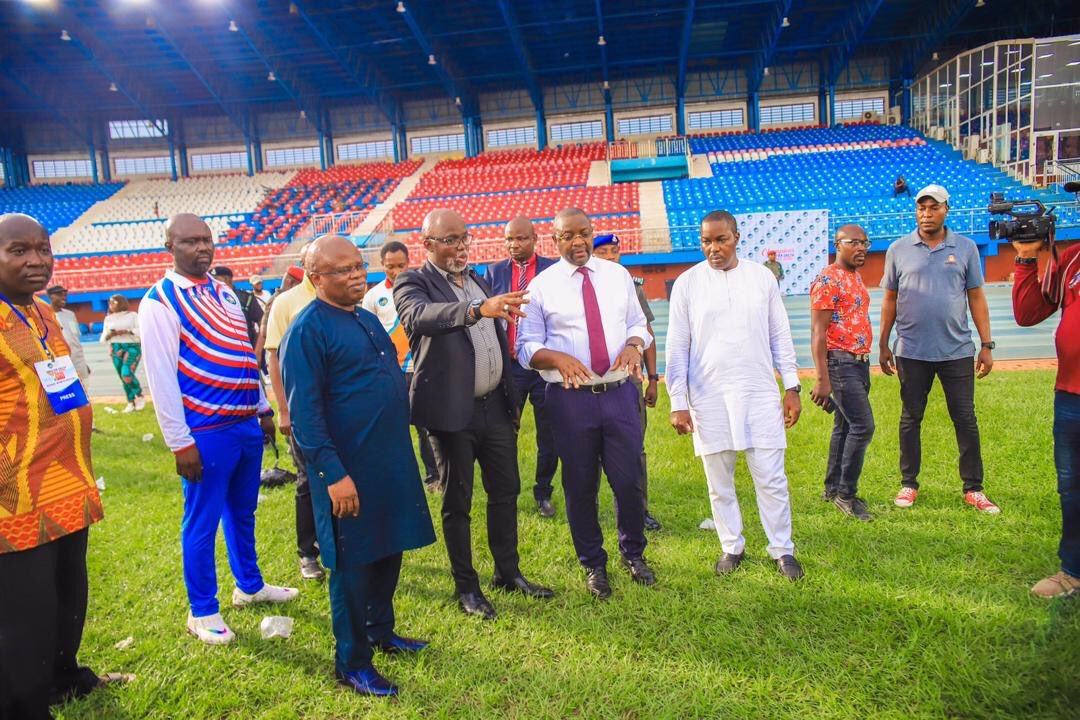 Asaba Stadium ready for AFCON quaifiers, says Sports Minister