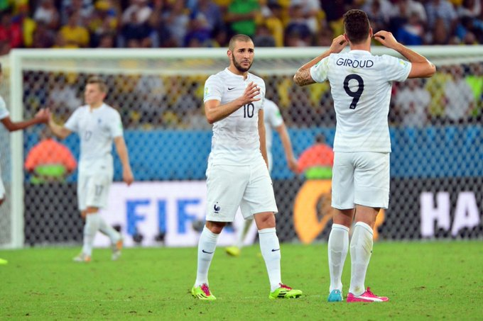 'You don't confuse Formula 1 with Go-Karting', Benzema aims dig at Olivier Giroud