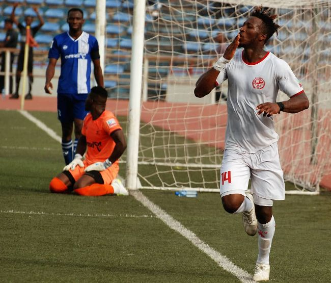 Chinoso Ezeikwe delighted to bag second goal for Rangers in four days