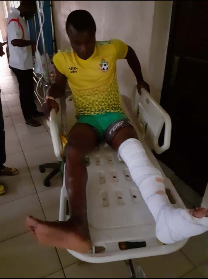 Kwara United winger Abdulsalam to miss the rest of the season