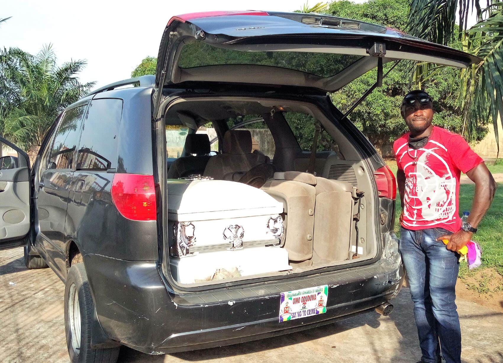 Rangers forward Ifeanyi George buried amid tears in Lagos