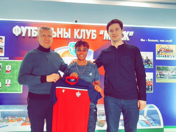 Why I joined Belarus side, FK Minsk – Chioma Wogu