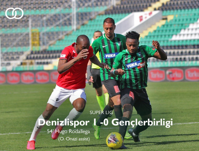 Onazi Turns back the Clock in Victory Over Genclerbirligi