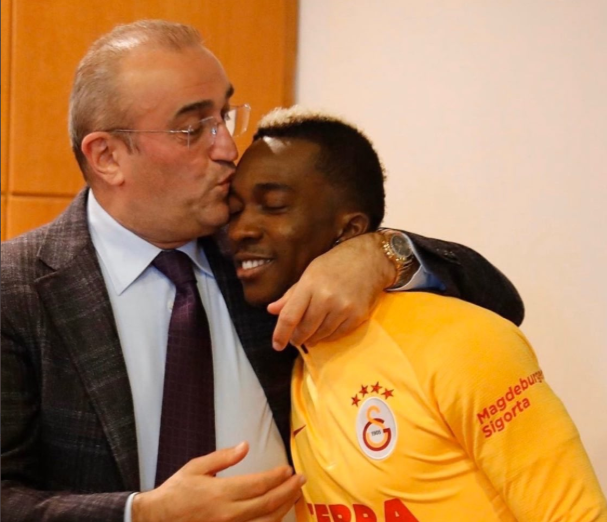 Onyekuru sends Message to Galatasaray Vice Chairman who Tested Positive for Coronavirus