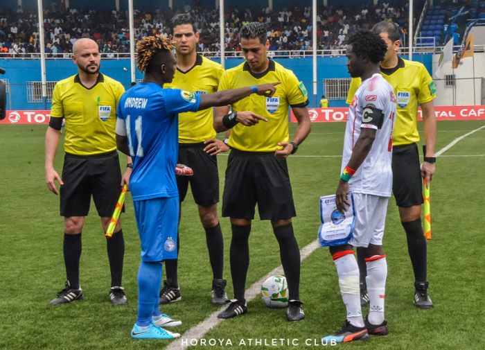 Enyimba, Horoya Players Talk Tough Ahead of Crunch Confederation Cup Match