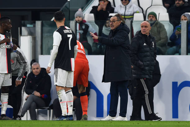 Sarri, Cristiano Ronaldo Agree to Give up Four-month Wages at Juventus