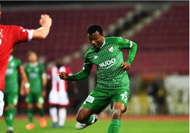 Abdullahi solely committed to Bursaspor promotion chase, amid new contract talks