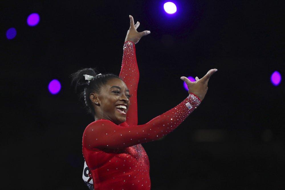 Biles tarsis USA Gymnastics